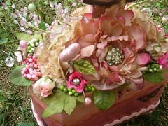 Detail Fairy Princess Box (rachelchristydesigns) Tags: pink blue glitter fairy mermaid vintagejewelry vintageephemera latestboxesandsuch