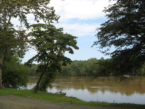 Yadkin River Trail put-in point