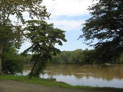 Yadkin River Trail put-in point
