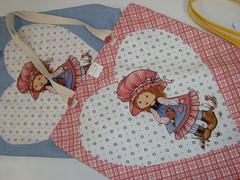 """EcoBag do Atelier Feltro Flor! (""""Feltro Flor"""") Tags: quilt patchwork bolsa bolsas aula molde tecido bordado costura necessaire"""