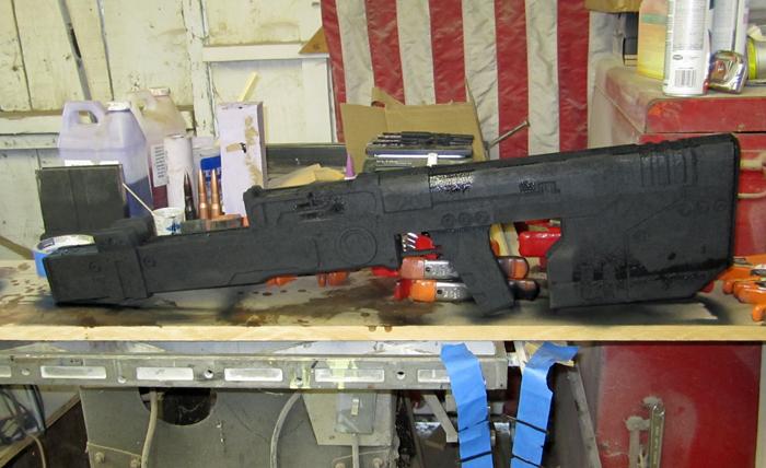 Sniper Body Primered