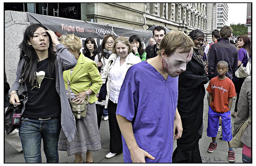Zombie Walking In London