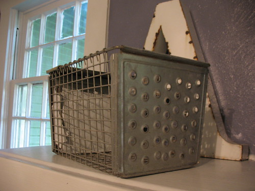 My new, old locker basket
