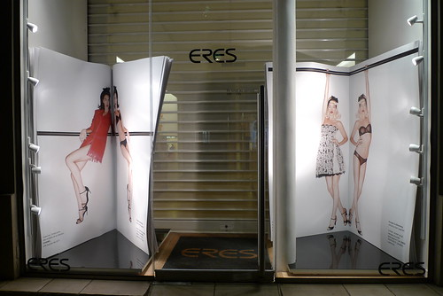 Vitrine Eres - Paris, juin 2010