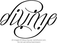 """Divine"" Ambigram"