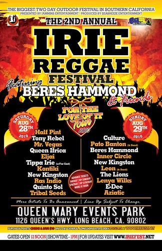 Irie Reggae Fest 2010