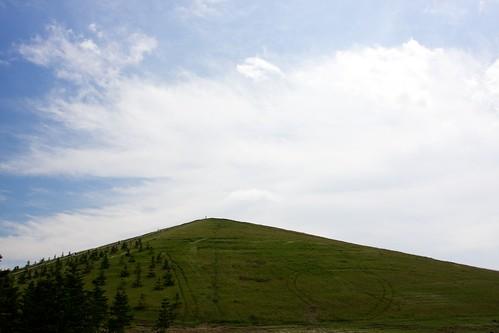 モエレ山の不思議な模様