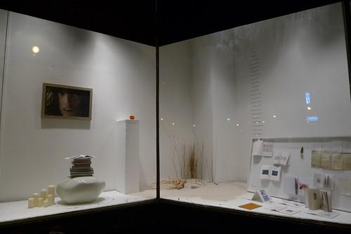 Vitrine exposition Vanessa Bruno à la Galeries des Galeries - Paris, juillet 2010