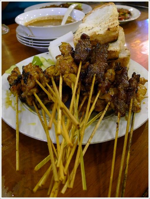 Satay Ayam, Daging @ Satay Malaysia