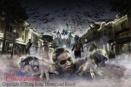 [Hong Kong Disneyland] Disney's Haunted Halloween (depuis 2007) - Page 3 4926333592_9f659e449e