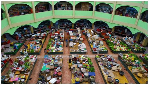 Pasar Siti Khadijah - Aerial View