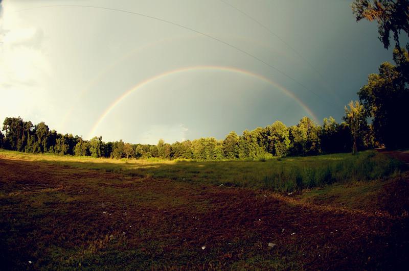 {double rainbow}