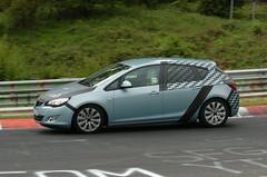 Opel Astra Prototyp auf der Nordschleife