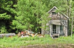 Abandoned Bungalow (jeffs4653) Tags: usa newyork building abandoned geotagged closed unitedstates empty forsaken catskills dilapidated greenfieldpark borschtbelt bungalowcolony ny52 geo:lat=4173134600 geo:lon=7450138400