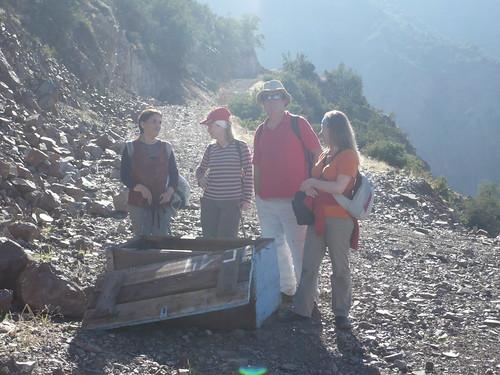 Verónica, Rebeca, Pancho y Paula