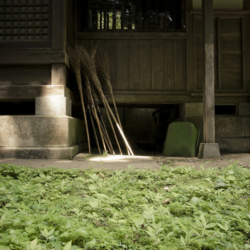 Resting Brooms