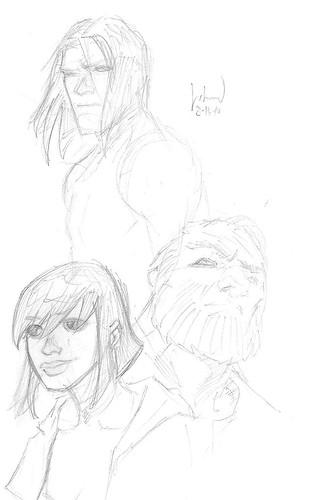 Dwarfstar characters