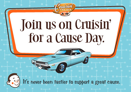 Cruisin' for a Cause Day at A&W