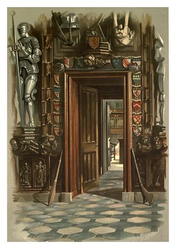 006-Puerta del estudio mostrando la esquina de la mesa-Abbotsford…1893-ilustrado por William Gibb