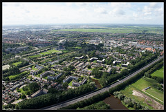 Come fly with me - Zaandam 2010 (Joost N.) Tags: sky holland photo high highway horizon nederland wideangle aerial fromabove helicopter birdseyeview zaandam snelweg northholland fromhelicopter airphotography hollandfromabove