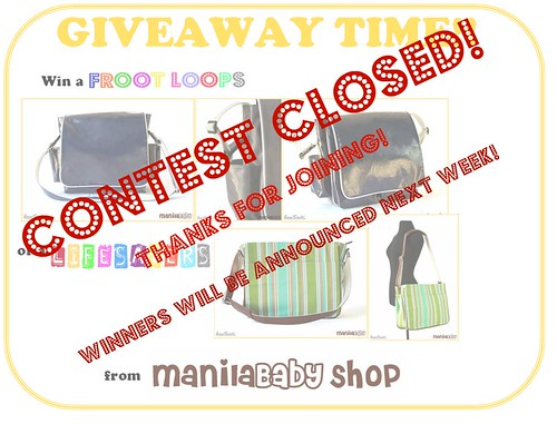 giveaway - contest closed