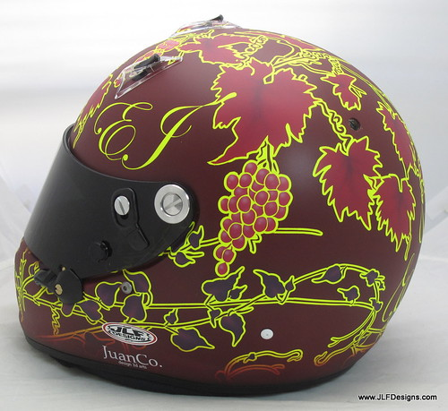 Viso's wine inspired helmet