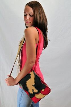 Inspire, Fair Trade Leather Purse