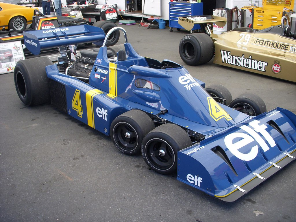 Tyrrell Six-Wheeled Grand Prix Car