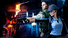 Chris & Jill Aiming (AGEN_BOOMBERSMITH) Tags: chris hot toys action jill 5 evil valentine figure resident aiming redfield