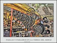 PAELLAS Y PAELLEROS EN LA TIERRA DEL ARROZ
