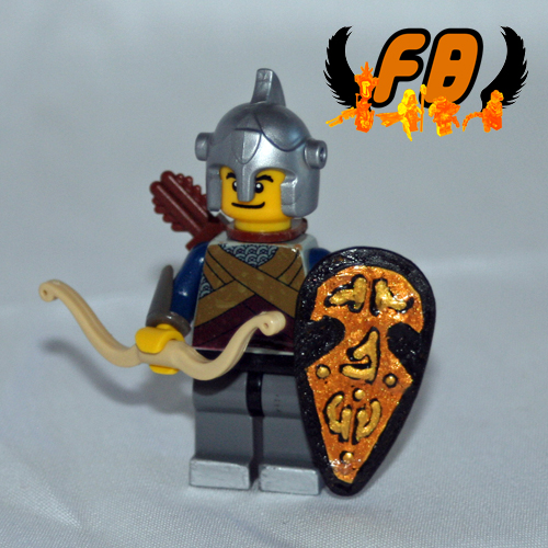 Lego Elf 3 custom minifig