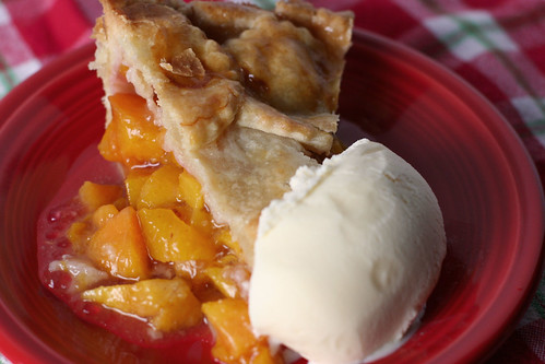 Peach Pie - Slice