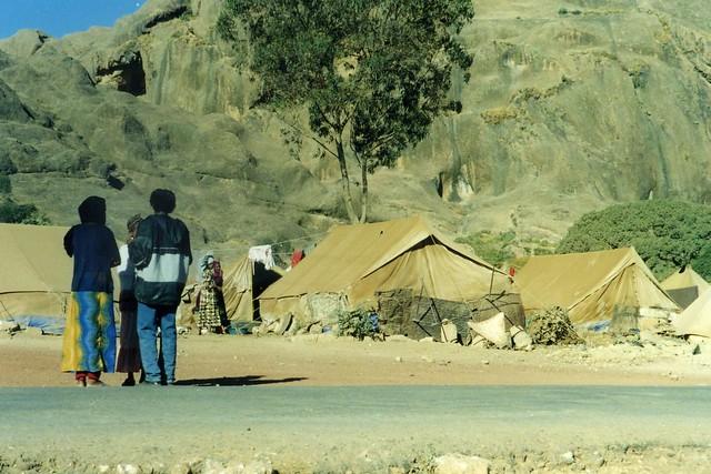 Senafe Refugees 2001