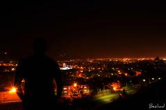 Shiraz Night & Day Shot (Behzad No) Tags: city lamp car night lowlight alone view shot iran shiraz nikond90 behzadno