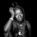 Old Himba woman - Angola