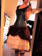 Steampunk Outfit Tryout Side