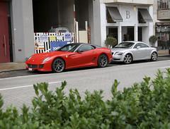 Ferrari 599 GTO (CMampaey) Tags: red ferrari spot knokke gto rood 599 599gto cmampaey