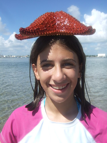 Rachel's new hat