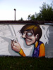 detail (mrzero) Tags: school wall graffiti character zero cfs mrzero coloredeffects