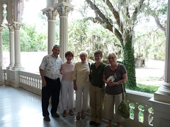 On the porch at Longwood (E.L. Malvaney) Tags: family people mississippi columns natchez antebellum longwood porches