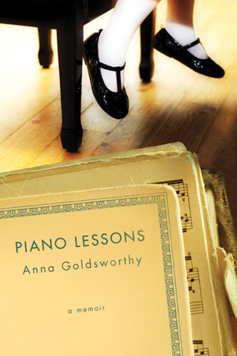 Piano Lessons: a memoir - US cover