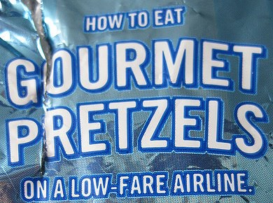 Airtran pretzels