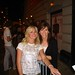 Mary Thoma poses with Laura Bell Bundy star of Legally Blonde the Musical