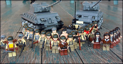 10th Armored Division (. soop) Tags: world two usa infantry war lego mr ww2 10th division armored sherman soop