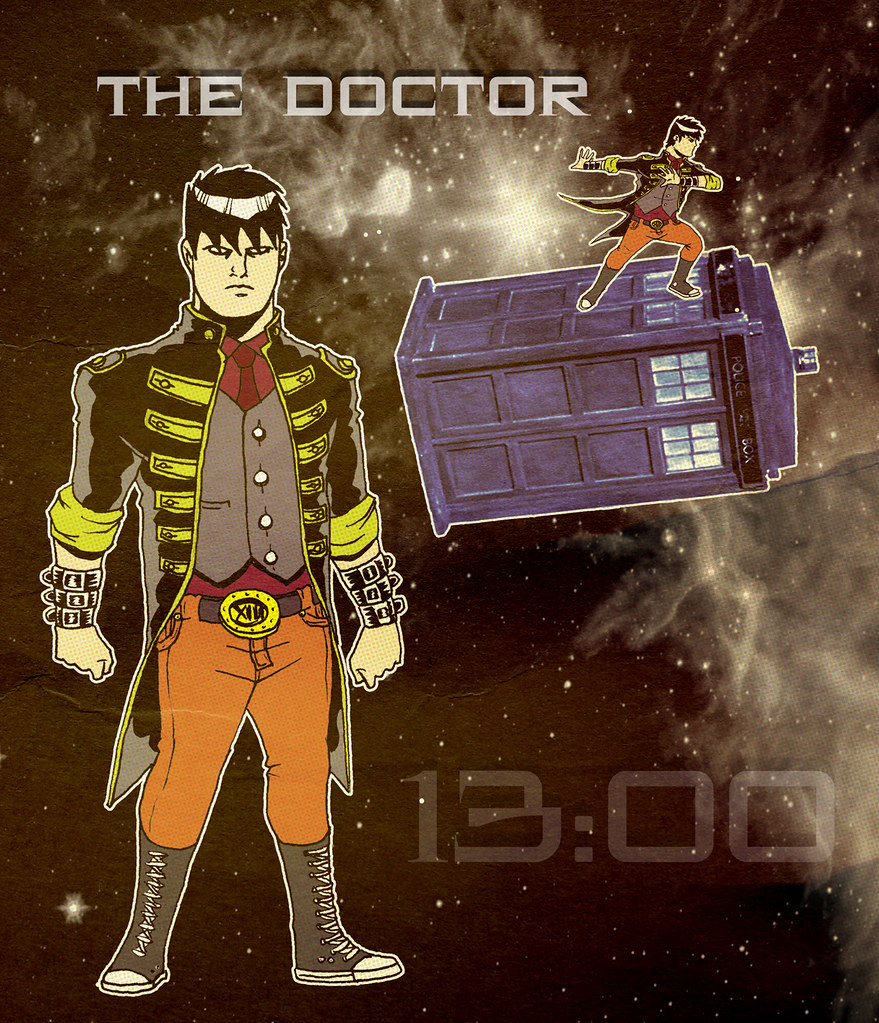 ULTIMATE NERD REMAKE/REMODEL: The Thirteenth Doctor