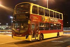 East Yorkshire 771, YX59FGU. (EYBusman) Tags: park 2 bus station night eclipse volvo shot yorkshire east motor wright hull gemini services interchange paragon eyms b9tl yx59fgu eybusman