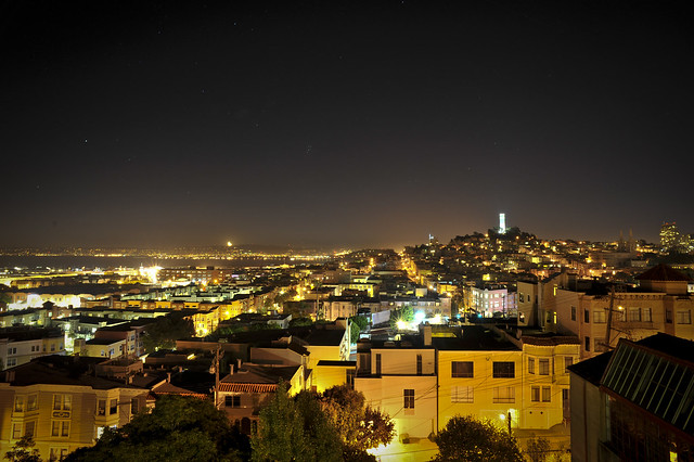 SF Last summer night