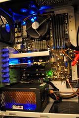 computer pc intel motherboard gigabyte corei7