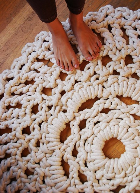 a doily for your toes