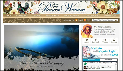 Who's In Your Blogroll: The Pioneer Woman